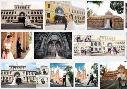 Những địa điểm chụp ảnh cưới đẹp nổi tiếng ở Sài Gòn