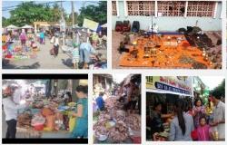 Chợ phiên Quới An khu chợ độc đáo ở Vĩnh Long