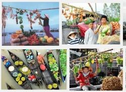 Chợ nổi Ngã Năm - Địa điểm mua sắm thu hút khách du lịch ở Sóc Trăng