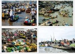 Chợ nổi Long Xuyên – Nơi mua bán không nói thách ở An Giang