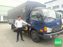 Báo Pháp Luật online đưa tin về Partner MuaBanNhanh: Tặng 100% phí trước bạ khi mua xe Hyundai HD99