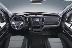 Chi tiết nội thất xe Hyundai Solati 16 chỗ