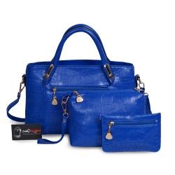 Mua bộ 3 túi xách màu xanh navi - Địa điểm may túi xách thời trang chất lượng tại TPHCM