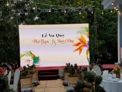 Địa điểm lắp đặt màn hình Led đám cưới tốt nhất TPHCM