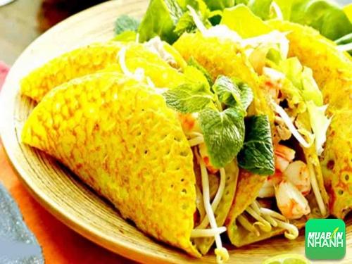 Bánh xèo vàng ươm giòn rum ở  Phan Thiết