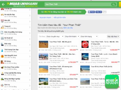 Tìm kiếm Tour du lịch Phan Thiết trên Mua Bán Nhanh