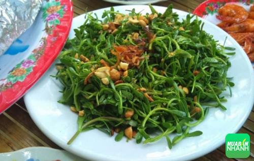 Rau rừng - món ăn được nhiều du khách yêu thích nhất