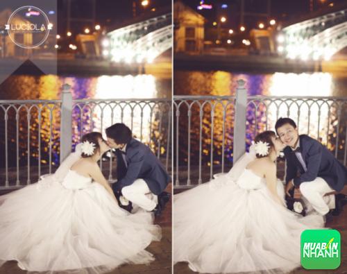 Chụp ảnh cưới tại Cầu Mống, Quận 1, Sài Gòn