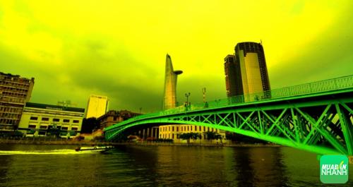 Ngắm cây Cầu Mống hơn trăm tuổi giữa Sài Gòn