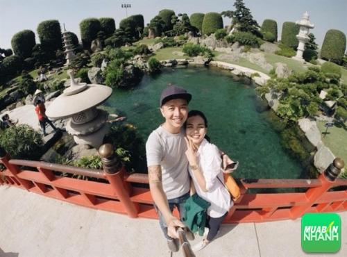 Công viên đá Nhật – Rin Rin Park với nhiều khối đá mang từ Nhật Bản về