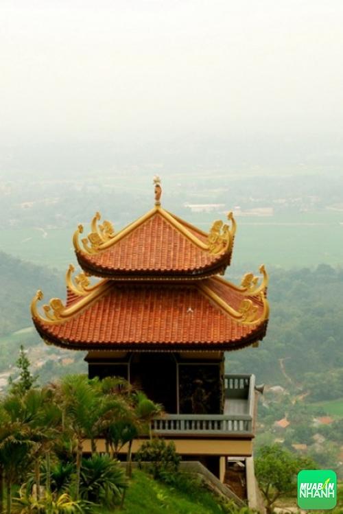 Một góc Thiền viện Trúc Lâm ở Tây Thiên