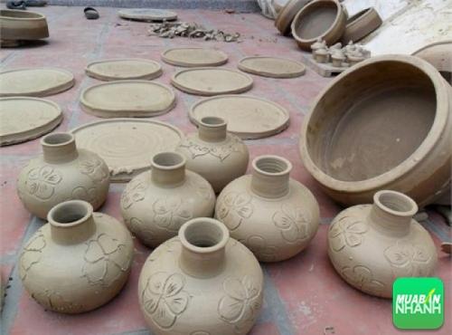 Đồ gốm chế tác tại Làng gốm Hương Canh - Vĩnh Phúc