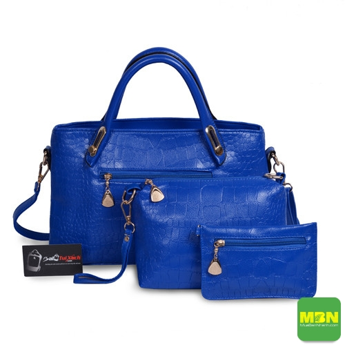 Mua bộ 3 túi xách màu xanh navi - Địa điểm may túi xách thời trang chất lượng tại TPHCM, 457, Mãnh Nhi, Địa Điểm Nhanh, 08/09/2018 15:55:25