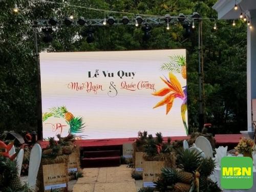 Địa điểm lắp đặt màn hình Led đám cưới tốt nhất TPHCM, 471, Mãnh Nhi, Địa Điểm Nhanh, 19/09/2018 15:27:04