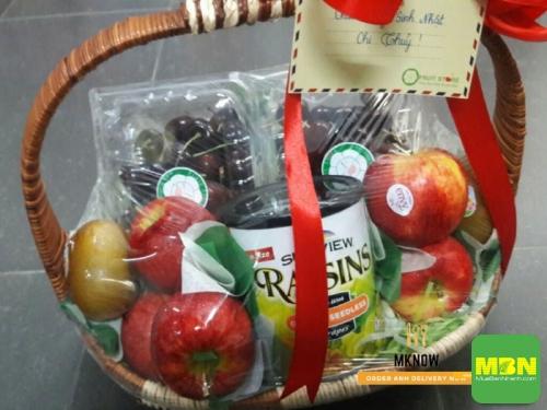 Đặt giỏ trái cây cao cấp tặng vợ kỷ niệm ngày cưới, 481, Thanh Thúy, Địa Điểm Nhanh, 18/10/2018 16:22:45